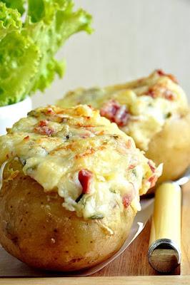 Gegratineerde aardappelen