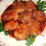 Gebakken kippenbouten met paprika's