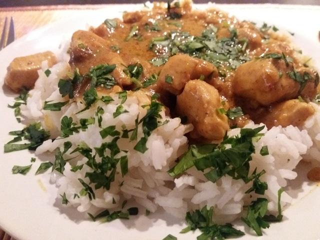 Kipfilet met curry Madras