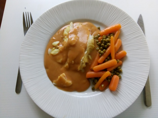 Kabeljauw met Aurore-saus