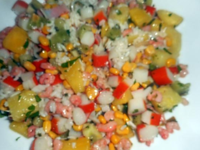 Hawaiiaanse salade