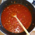 Spaghetti met tomaten-tonijnsaus