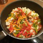 Garnalen met paprika