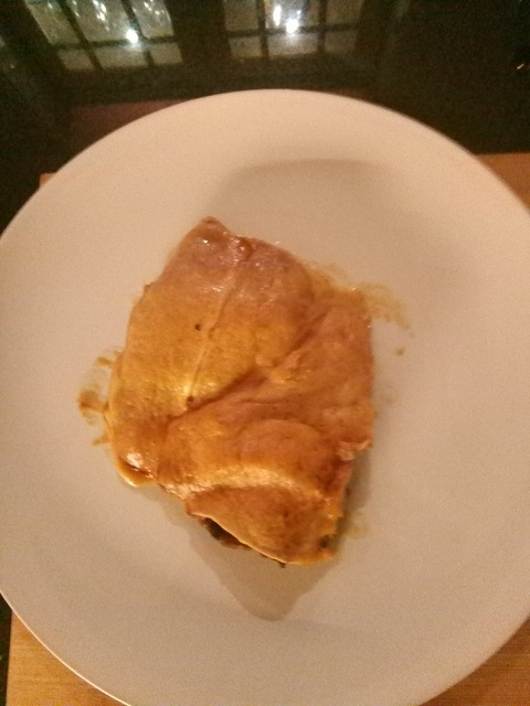 Karbonade met ham en kaas
