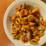 Macaroni met Zeeuwse mosselen