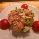 Tartaar van zalm en avocado
