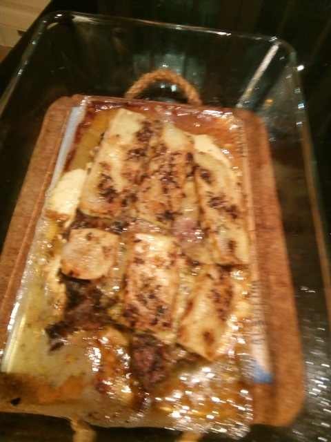 Karbonade met Brie