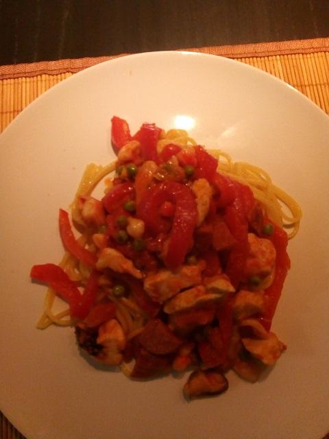 Spaghetti op zijn Spaans