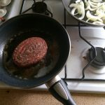 Steak haché met kaas