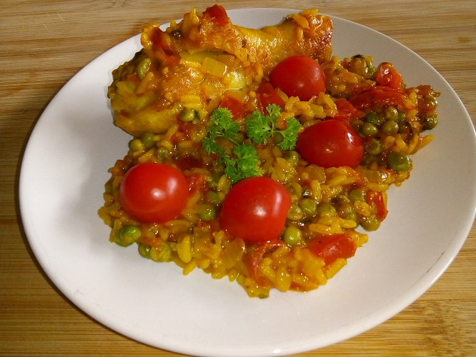 Galinhada (kip met rijst)