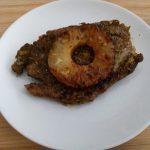 Tagliatelle met garnalen in een romige saus